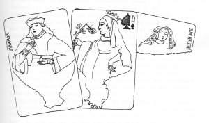Le jeu aurevillien du Desous de cartes