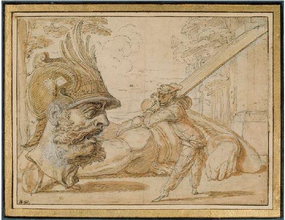 III-7 bizarre gravure XVII° s - Copie