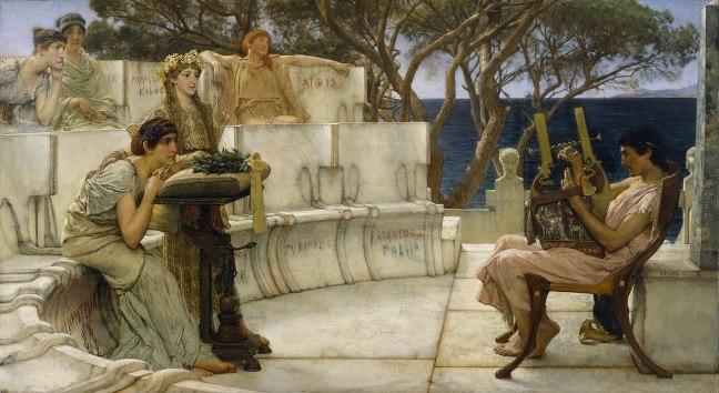 Sappho et Alcée